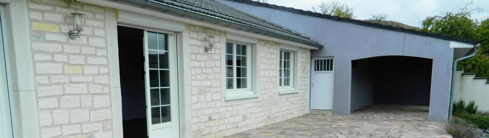 Pavillon individuel de plain pied à Malleloy
